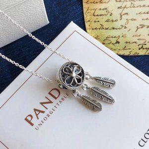 🎆NWT Spiritual Dreamcatcher Chain Necklace